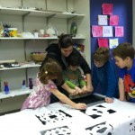 Screen Printing with Nitzanim