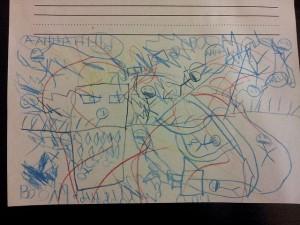 One first grader's dream.