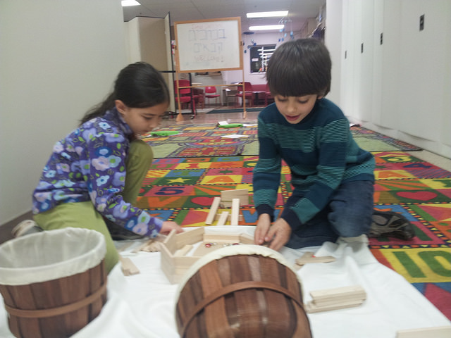 We saw a lot of teamwork during this creation work.