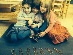 Counting to 100 together