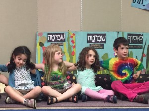 Singing together at Shirah Tefilah