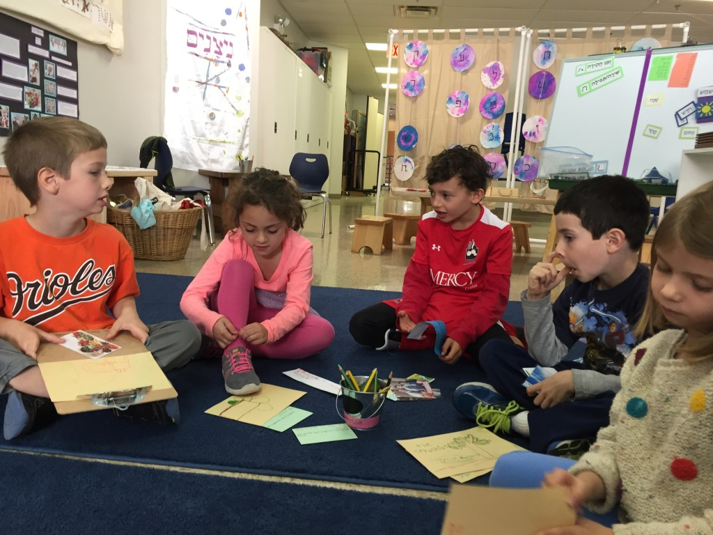 Sharing our ideas about brachot (blessings) and our amazing natural world.
